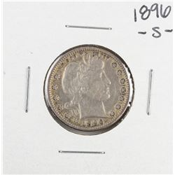 1896-S Barber Quarter Coin