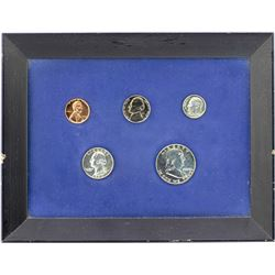 1960 (5) Coin Proof Set in Frame