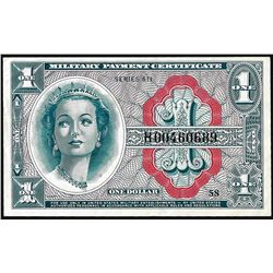 Series 611 $1 Military Payment Certificate Replacement Note
