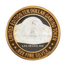 .999 Silver Golden Nugget Las Vegas $10 Limited Edition Casino Gaming Token