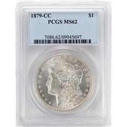 1879-CC $1 Morgan Silver Dollar Coin PCGS MS62
