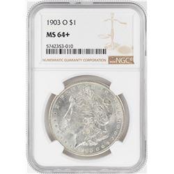 1904-O $1 Morgan Silver Dollar Coin NGC MS64+