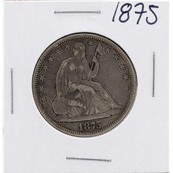 1875 Seated Liberty Half Dollar Coin
