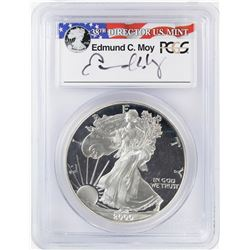 2000-P $1 Proof American Silver Eagle Coin PCGS PR69DCAM Moy Signature