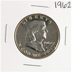 1962 Proof Franklin Half Dollar Coin