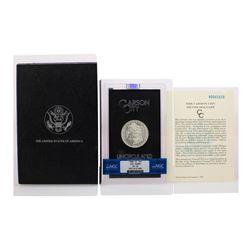 1880-CC $1 Morgan Silver Dollar Coin GSA Hoard NGC MS62 W/Box & COA