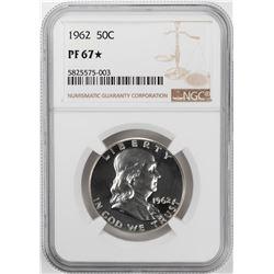 1962 Proof Franklin Half Dollar Coin NGC PF67 Star