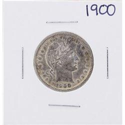 1900 Barber Quarter Coin
