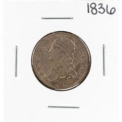 1836 Caped Bust Quarter Coin