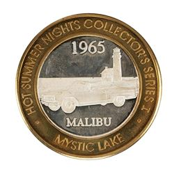 .999 Fine Silver Mystic Lake Casino $10 Limited Edition Gaming Token