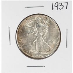 1937 Walking Liberty Half Dollar Coin