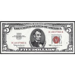 1963 $5 Legal Tender Note
