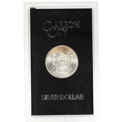 1884-CC $1 Morgan Silver Dollar Coin GSA Hoard w/ Box