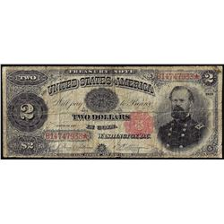 1891 $2 Treasury Note