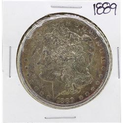 1889 $1 Morgan Silver Dollar Coin Amazing Toning