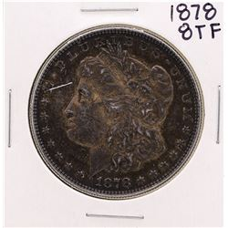 1878 8TF $1 Morgan Silver Dollar Coin