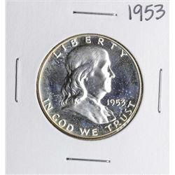 1953 Proof Franklin Half Dollar Coin