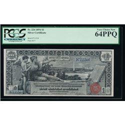 1896 $1 Educational Silver Certificate PCGS 64PPQ