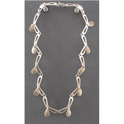 MEXICAN SILVER LINK NECKLACE