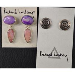WESTERN EARRINGS (RICHARD LINDSAY )