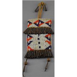 PLAINS INDIAN BEADED BAG