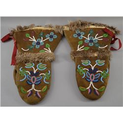 CREE INDIAN MITTENS
