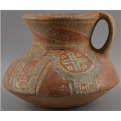 COSTA RICAN POTTERY PITCHER