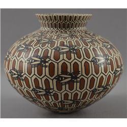 MATA ORTIZ POTTERY JAR (EFRIN LEDEZMA)