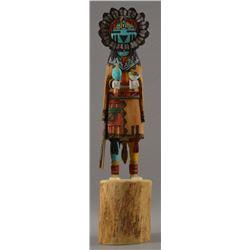 HOPI INDIAN KACHINA (JOSEPH DUWYENIE)