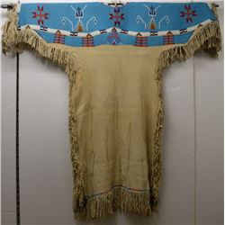 SIOUX INDIAN BEADED DRESS