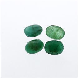 4.97 cts. Oval Cut Natural Emerald Parcel