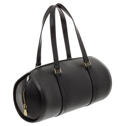 Louis Vuitton Black Epi Leather Soufflot Shoulder Bag