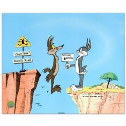 Coyote Crossing by Chuck Jones (1912-2002)