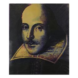 Shakespeare by Steve Kaufman (1960-2010)