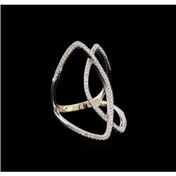 0.49 ctw Diamond Ring - 14KT White Gold