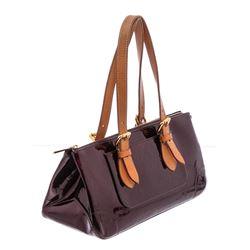 Louis Vuitton Amarante Monogram Vernis Leather Rosewood Avenue Bag