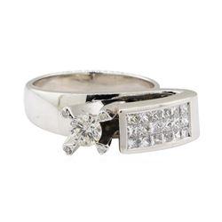 1.29 ctw Diamond Ring - 14KT White Gold