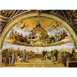 Raphael Eucharist on Canvas