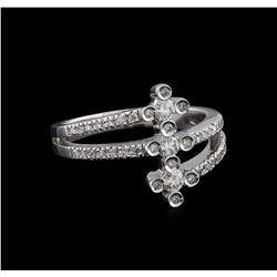 0.37 ctw Diamond Ring - 14KT White Gold