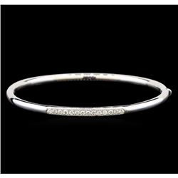 14KT White Gold 0.39 ctw Diamond Bracelet