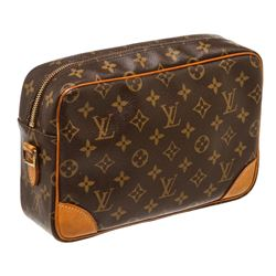 Louis Vuitton Monogram Canvas Leather Trocadero 27 cm Bag