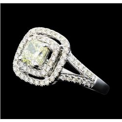 1.59 ctw Diamond Ring - 14KT White Gold