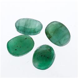 4.85 cts. Oval Cut Natural Emerald Parcel