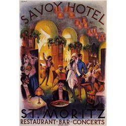 Anonymous -  Savoy Hotel St Moritz
