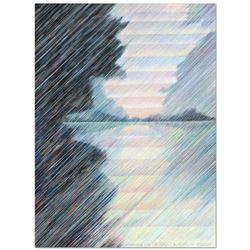 Morning on the Seine by Uzilevsky (1937-2015)