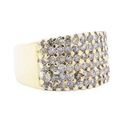 1.60 ctw Diamond Ring - 14KT Yellow Gold