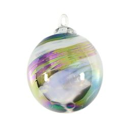 Ornament (Black and White) by Glass Eye Studio
