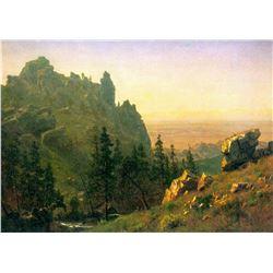 Wind River County by Albert Bierstadt