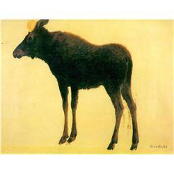 Elk by Albert Bierstadt