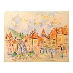 Nuits-Saint-Georges, Burgundy by Ensrud Original